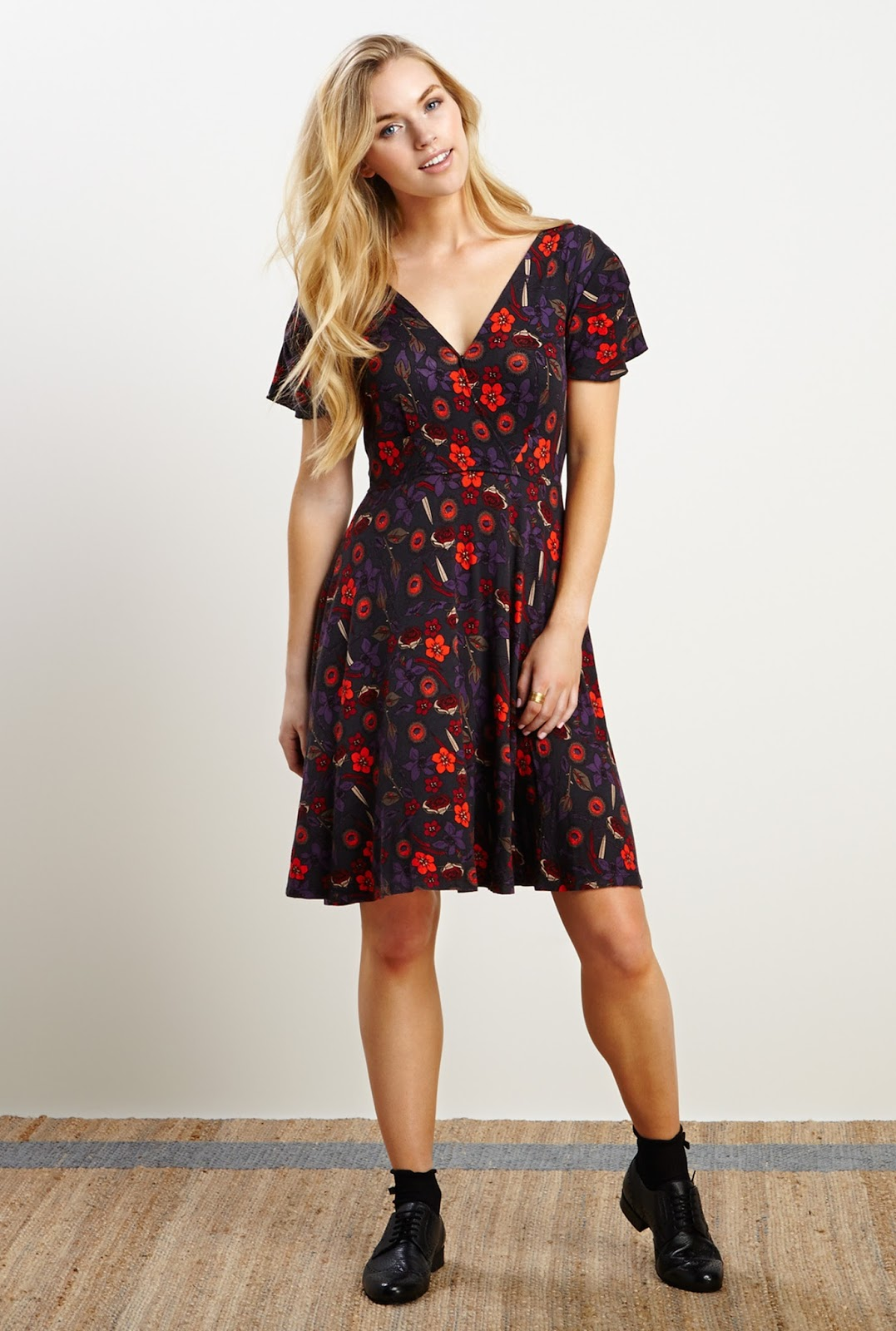 49e2315254 Autumn Garden Party - Floral Dresses for Fall! - Fashion Should Be Fun