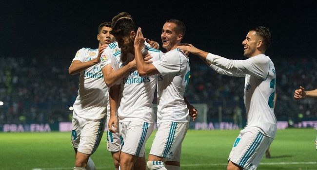 cuplikan gol fuenlabrada vs real madrid 2-0