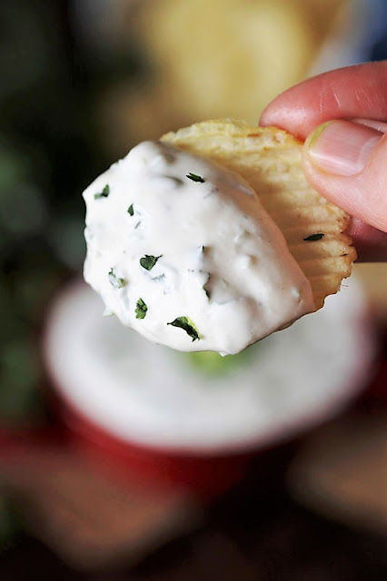 Potato Chip with Jalapeno Ranch Dip Image