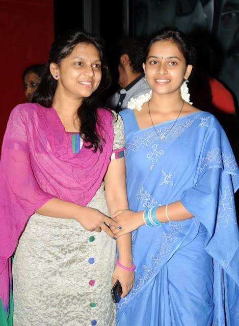Sri Divya with sister  Sri Ramya