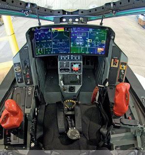 Cockpit of F-35