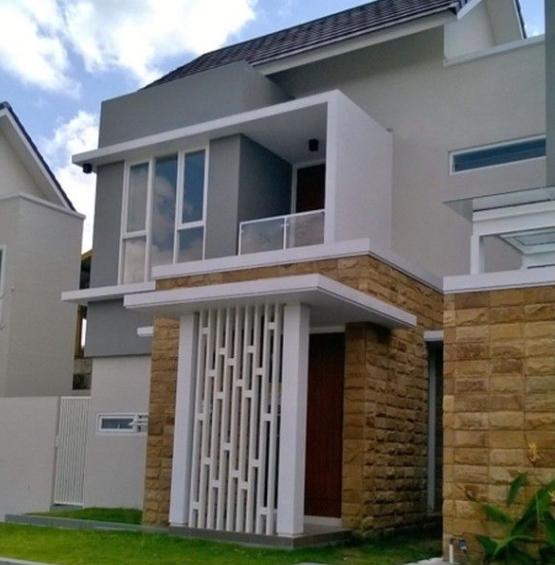45 Model Tiang Teras Rumah Minimalis Modern Yang Mewah