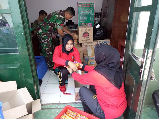 Paket Sembako Murah Akan Disediakan Di Penutupan TMMD Reg 105 Kodim klaten
