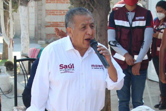Diputado Saúl Huerta renuncia a su reelección tras ser acusado de abusar sexualmente de un menor