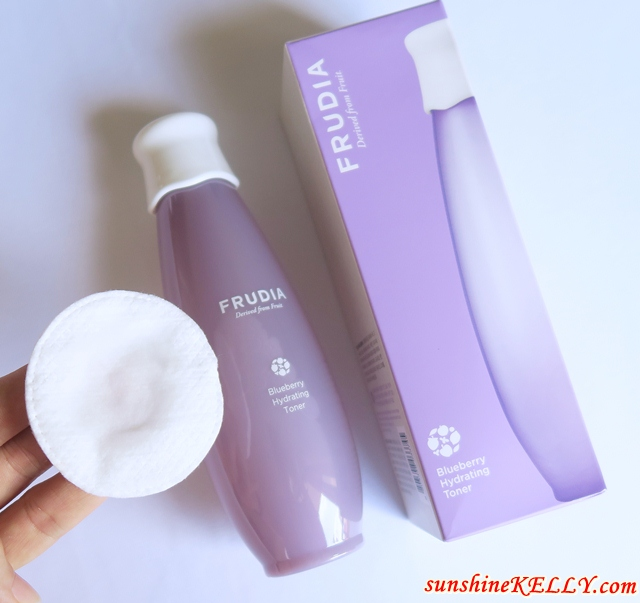 FRUDIA Blueberry Hydrating Skincare Review