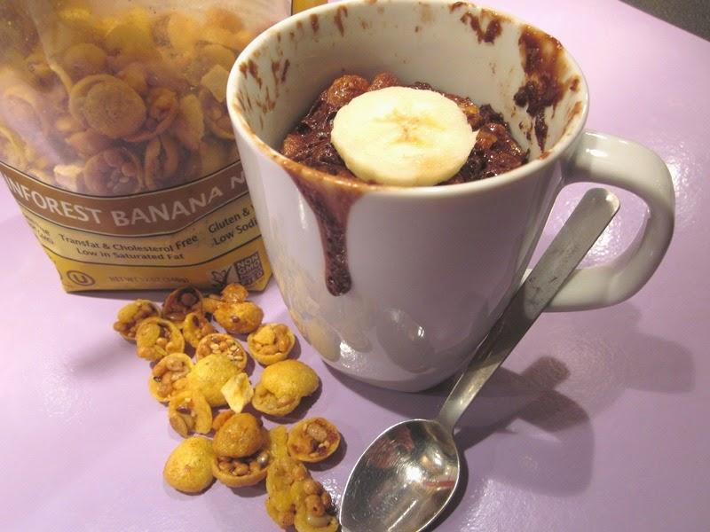Recette Mug Cake Granola