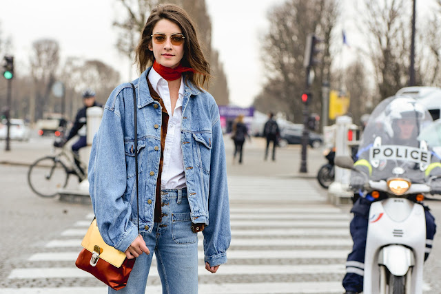 denim jacket outfit how to wear denim jacket denim jacket street style fashion moda autumn 2016 mariafelicia magno fashion blogger color block by felym fashion bloggers italy street style