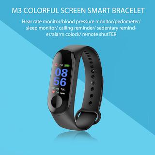M3 smartwatch braccialetto