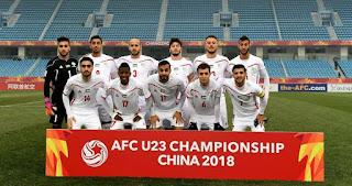 منتخب فلسطين الأولمبي يتعادل مع منتخب الصين تايبيه بدورة الألعاب الآسيوية بإندونيسيا 2018