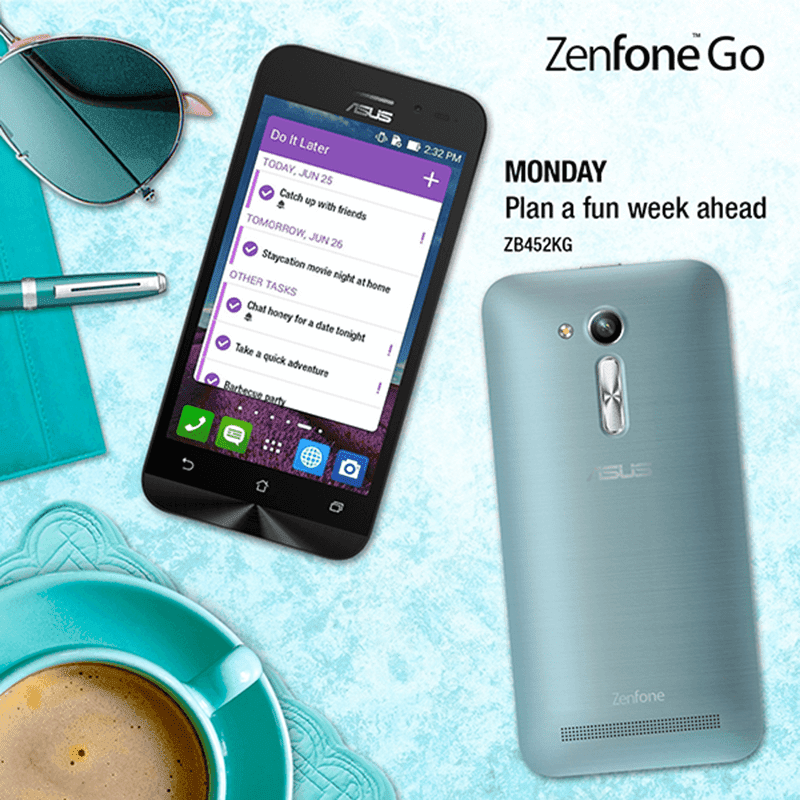ZenFone Go 4.5 Is Value Packed At 3999 Pesos Only!