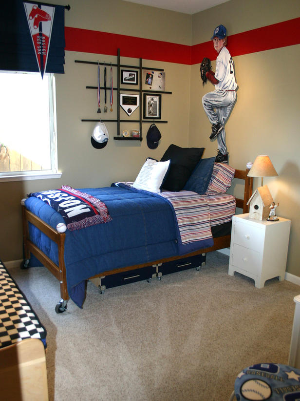 prairie home therapy boy 39 s room red and blue. Black Bedroom Furniture Sets. Home Design Ideas