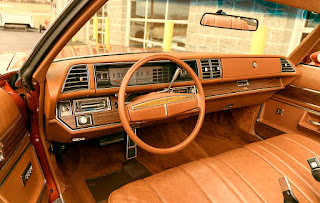 1975 Buick LeSabre Convertible Interior Cabin