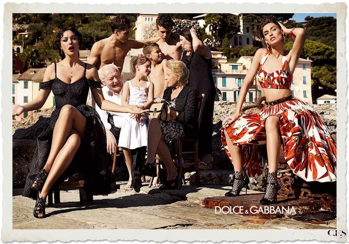 Dolce&Gabbana foto promozionale PE12