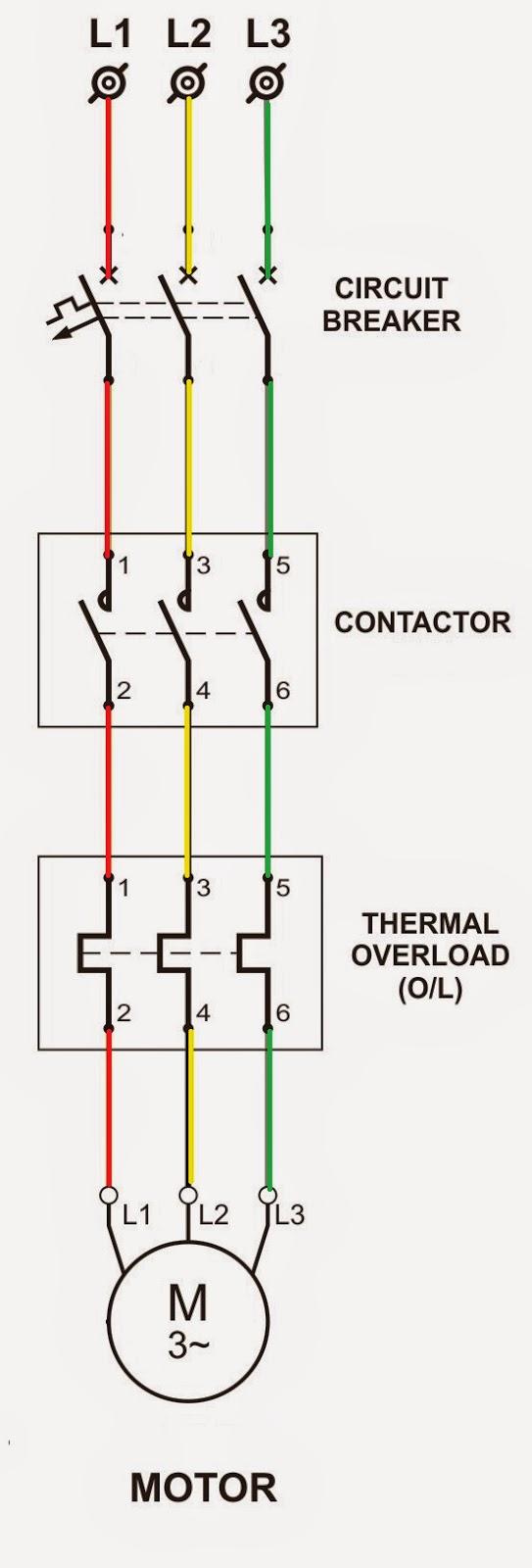Motor starter wiring automotivegarage electrical standards direct online dol starter asfbconference2016 Choice Image