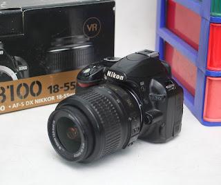 Jual Kamera DSLR Bekas Nikon D3100