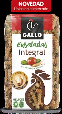 PRUEBA GRATIS PASTA ENSALADAS INTEGRAL GALLO