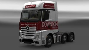 skins pack Downton Delivers Truck