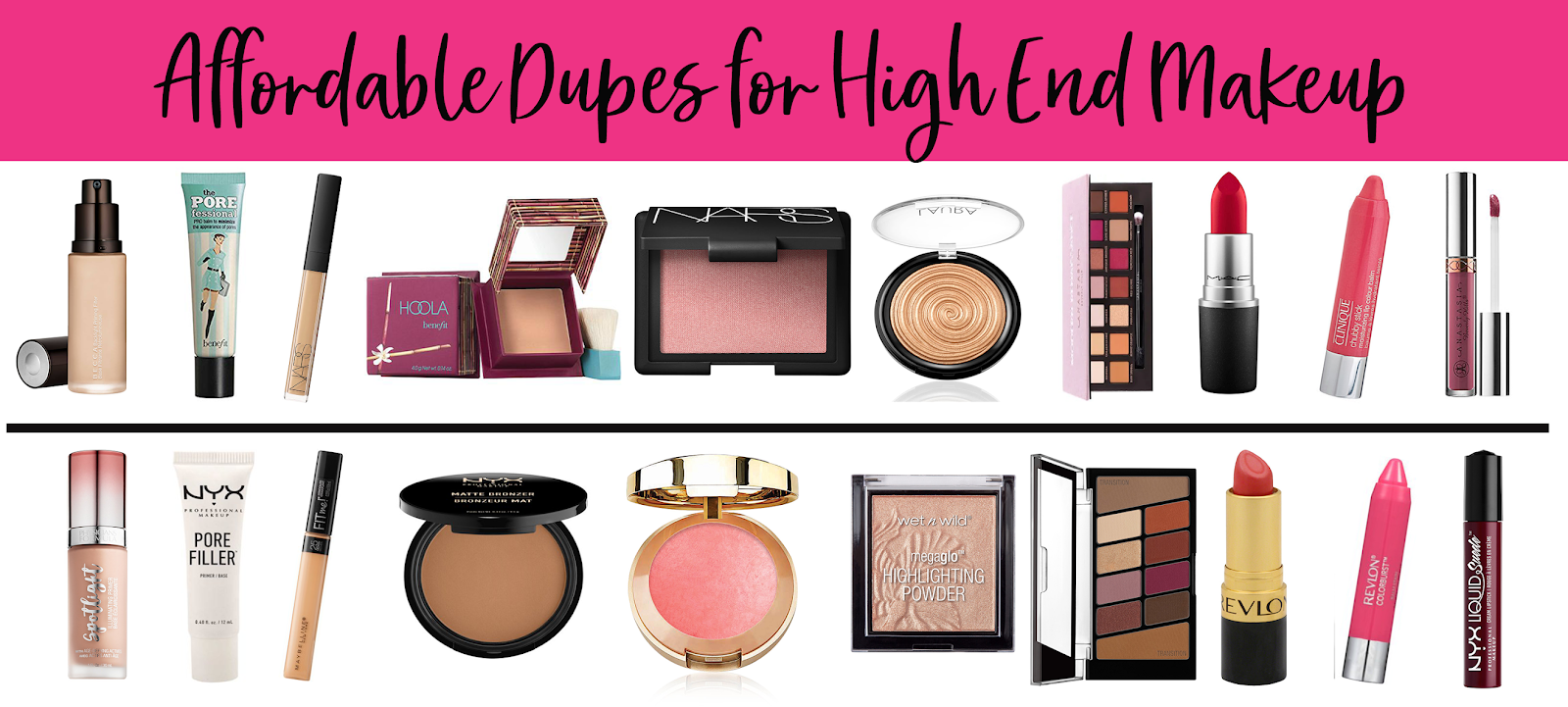 cc5837a0c Best Drugstore Dupes for High End Make Up