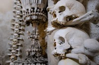 The Sedlec Ossuary Chapel in the Czech Republic