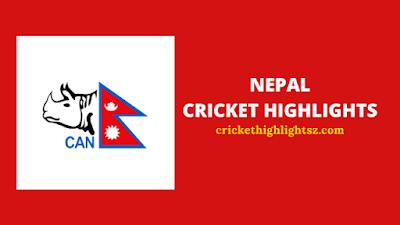 Nepal Cricket Highlights