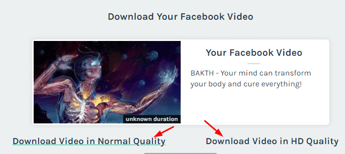 Facebook Video Download कैसे करें