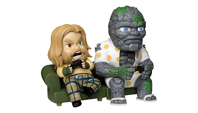 San Diego Comic-Con 2021 Exclusive Avengers: Endgame Thor & Korg Mini Egg Attack Figure Set by Beast Kingdom