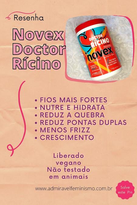 Novex doctor ricino resenha