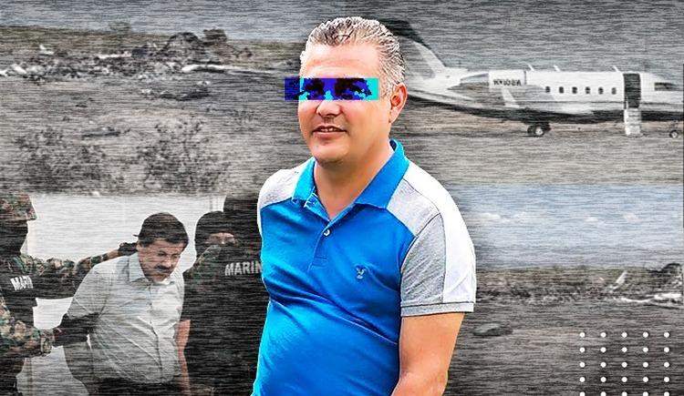 """""""Juanito"""" el piloto del avionazo en Coahuila habría lavado dinero y trabajado para """"El Chapo"""" Guzmán."""
