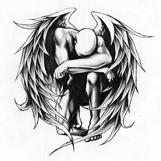 тату ангел +и демон