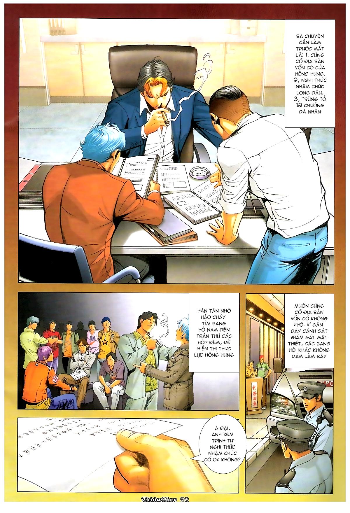 Người Trong Giang Hồ - Chapter 1243: Tiếp chiến - Pic 19