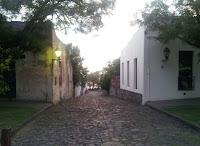 Calle histórica de Colonia del Sacramento