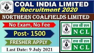 Northern Coalfields Vacancy 2021
