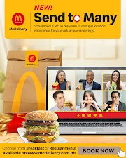 McDelivery Send to Many makes hosting virtual activities easy    with simultaneous deliveries