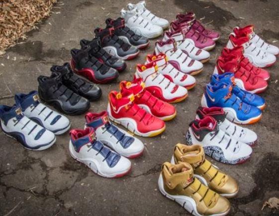 af9e22d0ce77 THE SNEAKER ADDICT  Nike Zoom LeBron IV 4 Graffiti