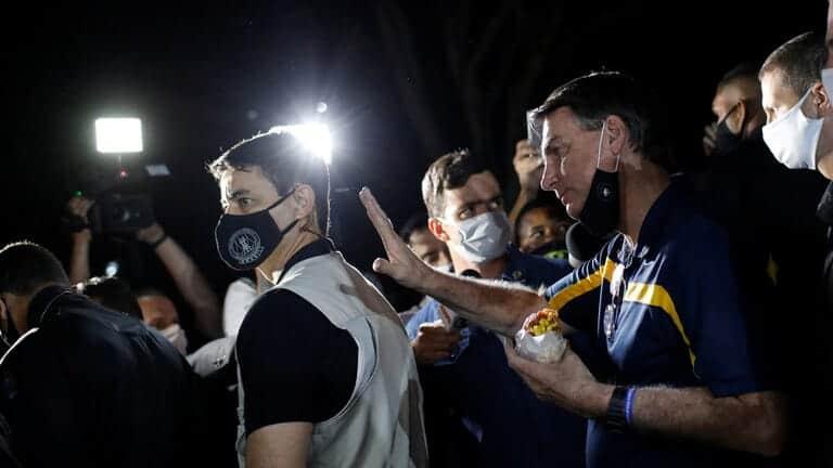 وسائل-إعلام-في-البرازيل-تقاطع-الرئيس-بولسونارو