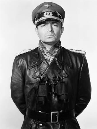 James Mason as Erwin Rommel in The Desert Fox