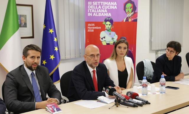 Italian Cuisine Week in Albania; focus on Mediterranean Diet
