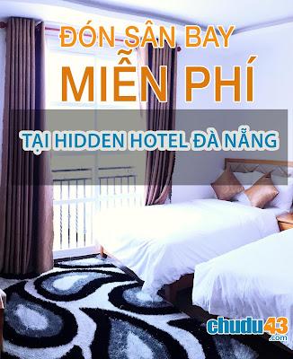 Đón Sân Bay Miễn Phí - Khách sạn Hidden Hotel Da Nang (Chudu43.com)