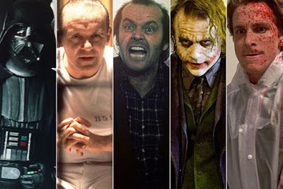 Los grandes villanos de Hollywood