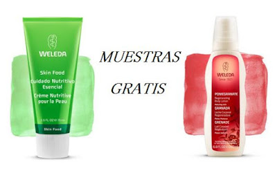 MUESTRAS GRATIS WELEDA