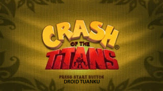Download Game PPSSPP PSP Crash Of The Titans ISO CSO High Compress For Android
