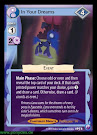MLP In Your Dreams Canterlot Nights CCG Card
