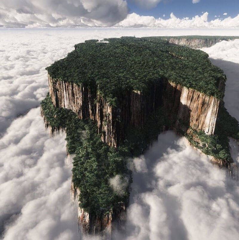 32 Stunning Places on Earth You Should Visit Before You Die - Mount Roraima, Venezuela