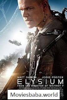 Elysium (2013) Full Movie Dual Audio Hindi ORG BRRip 720p