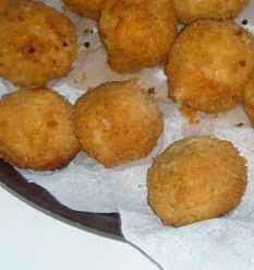Lokma is a fried sweet dough that is covered in syrup. Served as a dessert, lokma is a popular coffee accompaniment.