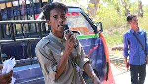PT. Bima Sakti Mutiara Di Demo Mahasiswa dan Pemuda Lambu