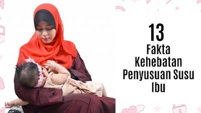 13 Fakta Kehebatan Penyusuan Susu Ibu