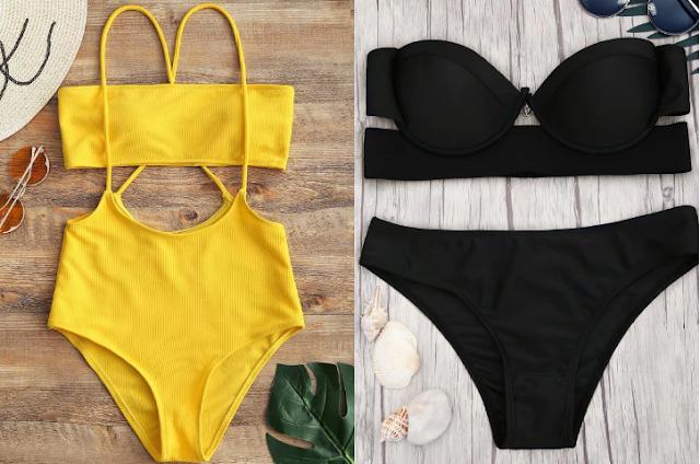Bikinis y bañadores baratos en la web de Zaful