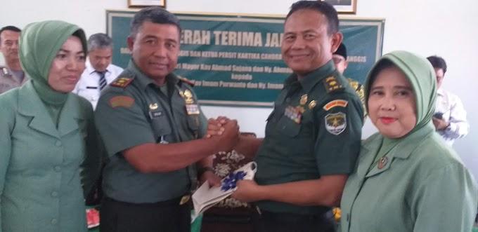 Mayor Kav Imam Purwanto Jabat Danramil 06/Cimanggis