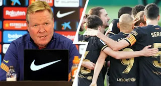 Barcelona manager Koeman refuses to deny rumour of club wage crisis